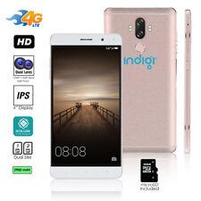 "Indigi 4G Lte Unlocked 6"" SmartPhone (Android 7 + 13Mp Cam + Fingerprint Scan)"
