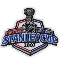 NHL 2007 Stanley Cup Finals Patch Anaheim Mighty Ducks