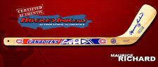 MAURICE RICHARD Signed MONTREAL CANADIENS Mini-Stick