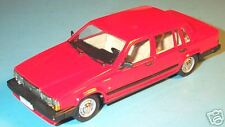 wonderful modelcar  VOLVO 740GL Saloon 1987 - r e d -   scale 1/43