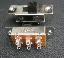 1pcs, 2-Way 4PDT 125V-250V Slide ON/OFF/ON Switch,S202
