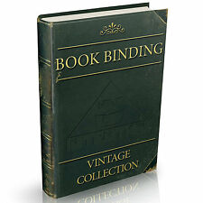 Rare Bookbinding Book Collection on DVD Alum Gilding Binding Binder Board Paper