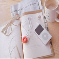 Doughnut Cable Wire Organizer Winder Usb Earphone Headphone Cord Holder Colorful