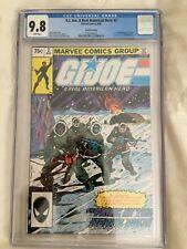 G.I. JOE: A Real American Hero #2 CGC 9.8 (1982), FIRST KWINN, 2nd PRINT.