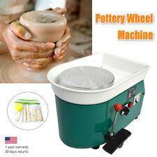350W 110V Electric Pottery Wheel Ceramic Machine 25CM Work Clay Art Craft DIY SH