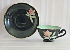 VTG MERIT MINI TEA CUP AND SAUCER HP OCCUPIED JAPAN - EUC