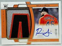 RICO GARCIA ⭐ 2020 National Treasures 3 COLOR Rookie Patch ON CARD Auto /49