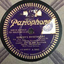 """HARRY ROY /Mayfair Hotel Orchestra Nobody's Baby 78rpm 10"""" Shellac Record (7044)"""