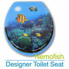 NEMO FISH Designer Toilet Seat and Cover Poly Resin Finish Brand New