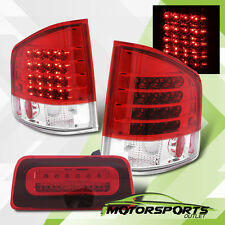 1994-2004 Chevy S10 GMC Sonoma LED Tail Lights + 3rd Third Brake Lamp Combo