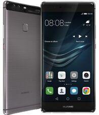 Teléfonos móviles libres gris Huawei barra