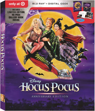 Hocus Pocus: Exclusive 25th Anniversary Edition (New, 1993, Blu-ray+DVD+D)