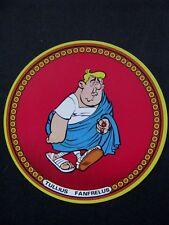 Etiquette PERSONNAGE ASTERIX 1968 Tullius  Fromage BEL VILLAGE ARVENE