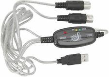USB a MIDI interfaccia del computer per tastiera-compatibile Windows & Mac - 1.8m