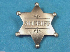 SHERIFF obsolete antique star badge replica MI3018 NEW!