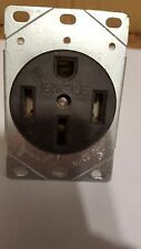 Eagle 1258 flush mount receptacle 50amp 125/250v (New open package)