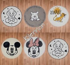 Disney Baby Kids Rooms Rugs Lion King/ Winnie the Pooh/ Dumbo / Mickey Mouse Etc