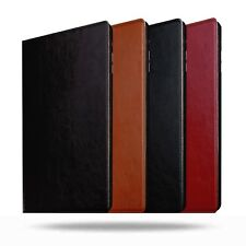Apple iPad Air 3 (3rd Gen)Genuine Cowhide Leather Folio Stand Case w/ Sleep-Wake