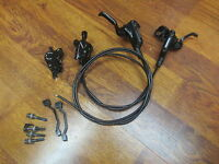 SHIMANO BL-M506 HYDRAULIC DISC BRAKE LEVERS & BR-M447 CALIPERS
