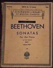 Beethoven Piano Sonata Book Volume I (17 Sonatas)