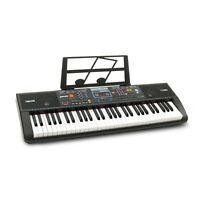 Plixio 61-Key Digital Electric Piano Keyboard & Sheet Music Stand Portable