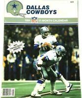 Dallas Cowboys 1984 17 Month Calender