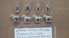 15mm Frontier Miniatures American Civil war Cavalry Command