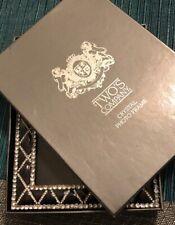 Two's Company Cristal Photo Frame Five Diamond Award New Open Box