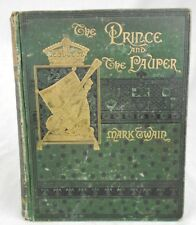 The Prince and the Pauper by Mark Twain 1st Edition James Osgood & Company 1882