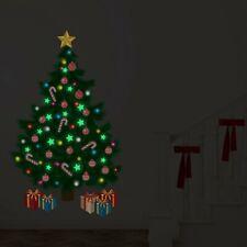 Walplus Starring night by the Christmas tree Wall Sticker Decal Art Decoration