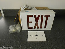 Duralite Led1Emrww Led Direct View Exit Sign