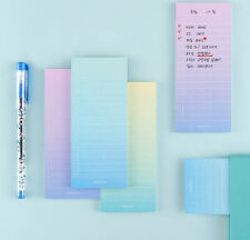 Ardium Gradation It Sticky Note 3 Lot Post-it Memo Pad Cute Bookmark Index Gift