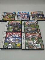 Lot of 7 Backyard Sports Games Nintendo DS