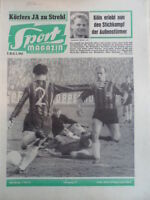 SPORT MAGAZIN KICKER 7A - 12.2. 1962 Frankfurt-KSC 3:1 SV Waldhof-Bayern Hof 2:2