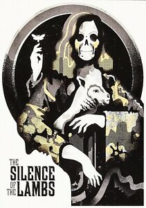 SILENCE OF THE LAMBS Classic 90's Vintage Movie Poster Art Print - Hannibal Book