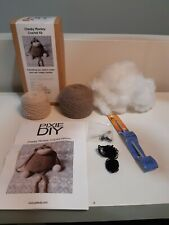 PIXIE DIY CHEEKY MONKEY CROCHET KIT -INCLUDES EVERYTHING ! VALUE $60 ! NEW !