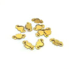 10Pcs Miniature Metal Handle Knob DIY Accessories 1:12 Dollhouse Decor