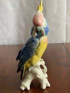 Porzellanfigur Papagei, Karl Ens