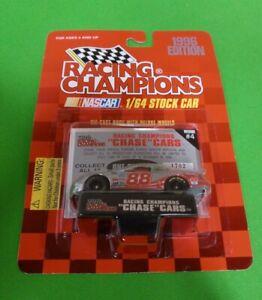 Dale Jarrett car #88  1996 Racing Champions Chrome Chase 1:64 Diecast Rare