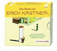 ERICH KÄSTNER - DAS BESTE VON ERICH KÄSTNER - 3 CD - NEU!!