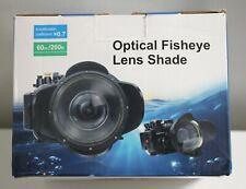 Optical Fisheye Lens Shade! NIB!!