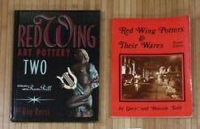 Red Wing Potters & Their Wares Signed Tefft 1987(91)& Pottery Reiss  2000(03)