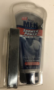 (1) Nair hair remover men Shower Power With Sponge New 5.1 Oz  Factory sealed