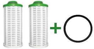 Filterelemente inkl. O-Ring f Grünbeck GBS GENO KOMBI Filter Kerzen Wasserfilter