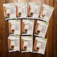 Beachbody Shakeology VEGAN CAFE LATTE Protein Shake Powder 10 Single Packets
