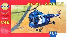 SMER 0991,MIL Mi-2 Policie,Polizei Hubschrauber,Klikklak-System, Bausatz 1:48
