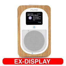 Pure Evoke H3 DAB+/FM Digital Radio w/Audio Wireless Bluetooth Speaker Oak