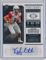 KYLE LAULETTA - 2018 Contenders Draft Rookie Ticket AUTO - NY Giants RC
