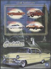 ANTIGUA BARBUDA 2003 Klb 3955-58 Block 575 100th Ann Cadillac Cars Autos MNH