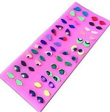 Eyes Expressions 56 Cavity Silicone Mold for Fondant, Gum Paste & Chocolate